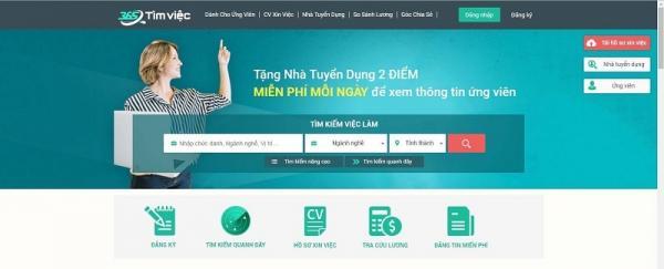 Tìm kiếm Quanh đây - Bộ lọc tìm kiếm ưu việt trên Timviec365.vn